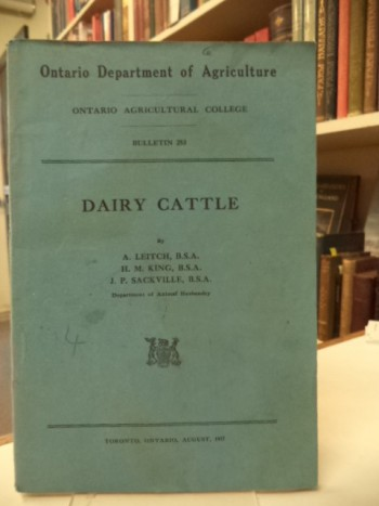 Image for Dairy Cattle [Ontario Agricultural College. Bulletin, 253]