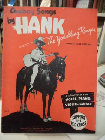 Image for Cowboy Songs By Hank the Yodelling Ranger , No. 1