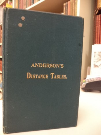 Image for Anderson's Distance Tables Between Ports In All Parts Of The World.