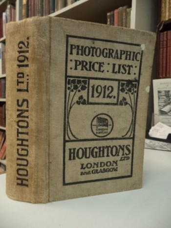 Image for Price List of Photographic Apparatus and Materials 1912 [Houghtons]