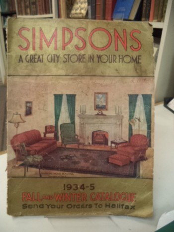 Image for Simpsons Fall and Winter Catalogue 1934 - 1935