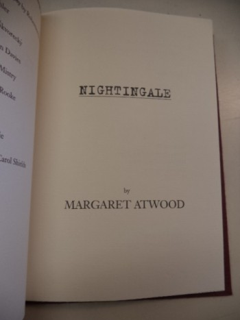 Image for Nightingale [signed, limited ed.]
