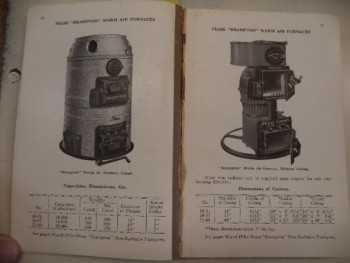 Image for Pease Catalogue and Price List Number 90 [1922] : Warm Air Furnaces; Combination Furnaces; Registers; Hot Water Boilers; Steam Boilers; Radiators; Fittings; Valves; Etc.