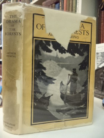 Image for The Drama of the Forests. Romance and Adventure. [inscribed]