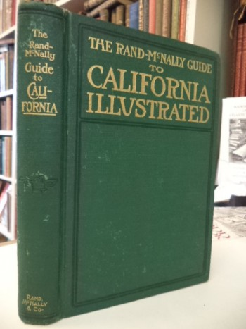 Image for The Rand-Mcnally Guide to California via the Santa Fe [map present]
