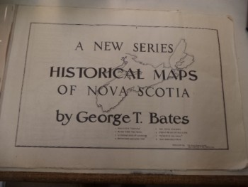 Image for A New Series of Historical Maps of Nova Scotia  [including: Nova Scotia Treasures; A Map of Oak Island Nova Scotia; Is This the Secret of Oak Island? and five more]