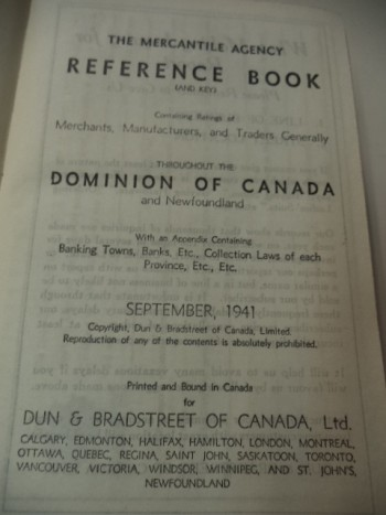 Image for The Mercantile Agency Reference Book, (And Key) Containing Ratings Of The Merchants. Manufacturers, And Traders Generally, Throughout The Dominion Of Canada and Newfoundland. With An Appendix Containing Banking Towns, Banks, Bankers, ....