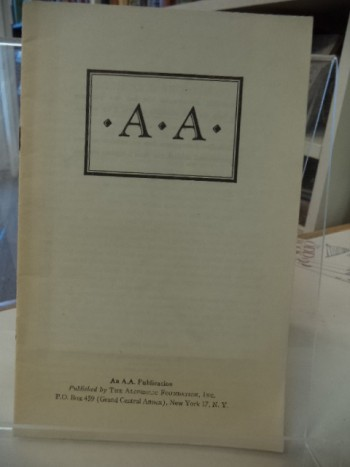 Image for A . A. [1943 Alcoholic Foundation pamphlet]