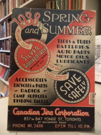 Image for Canadian Tire Catalogue, 1938 Spring and Summer [Silver Anniversary Catalog]