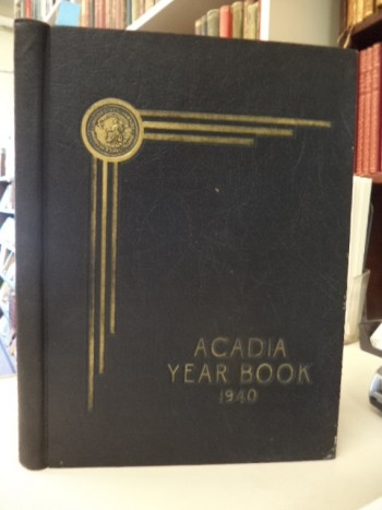 Image for Acadia Year Book 1940
