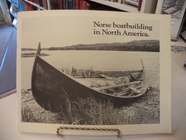 Image for Norse Boat Building in North America [Boatbuilding]