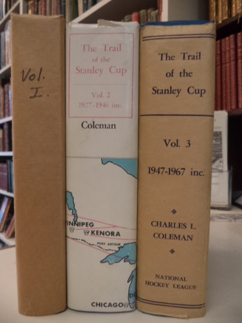 Image for The Trail of the Stanley Cup. Volumes 1, 2, 3 [complete]