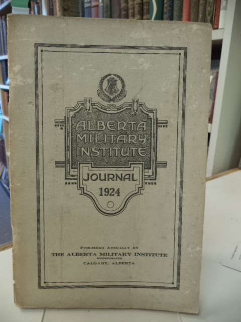 Image for 1924 Annual Journal of The Alberta Military Institute.