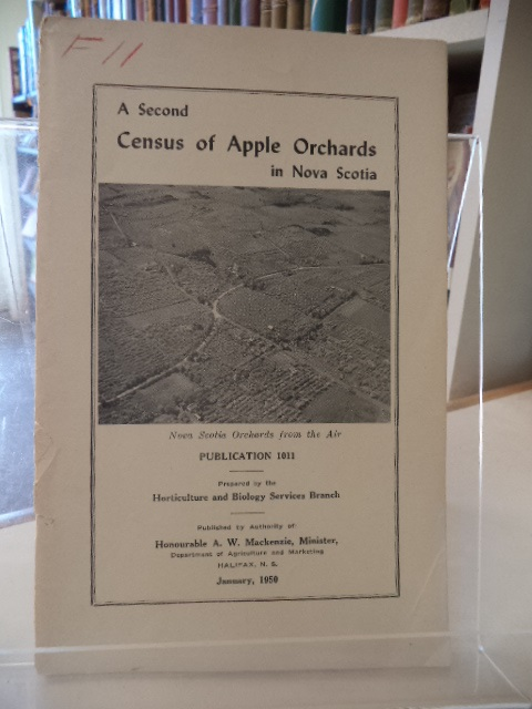 Image for A Second Census of Apple Orchards in Nova Scotia