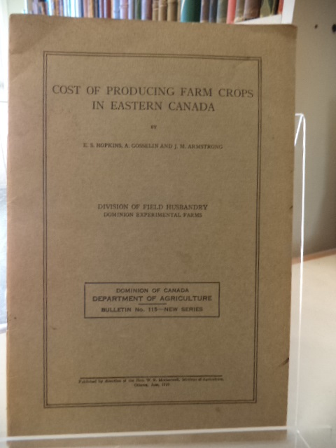 Image for Cost of Producing Farm Crops in Eastern Canada