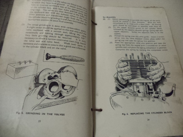 Image for Motor-Cycle, 500 cc, Triumph, TRW. User Handbook