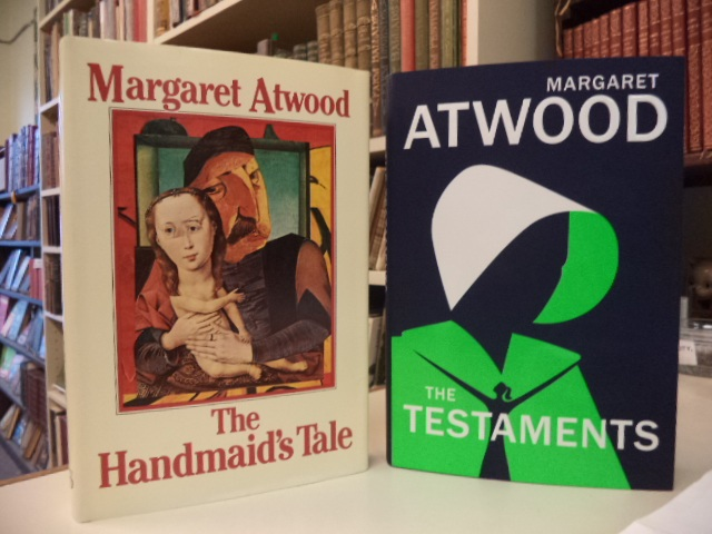 Image for The Handmaid's Tale [first edition; first printing], WITH: The Testaments [signed, first printing]