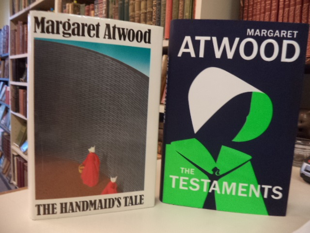 Image for The Handmaid's Tale [John Fowles' copy], WITH: The Testaments [signed, first printing]