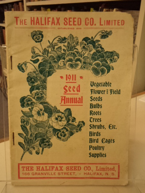 Image for 1911 Seed Annual : The Halifax Seed Co. [catalogue]