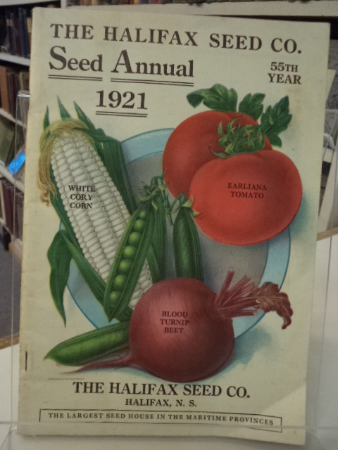 Image for 1921 Seed Annual : The Halifax Seed Co. [catalogue]