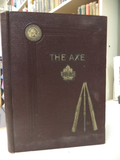 Image for The Axe. 1942. Acadia University Yearbook