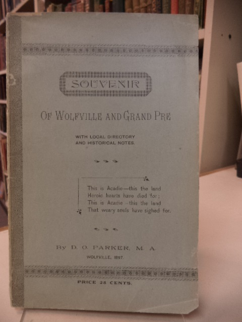 Image for Souvenir of Wolfville and Grand Pre with local directory and historical notes