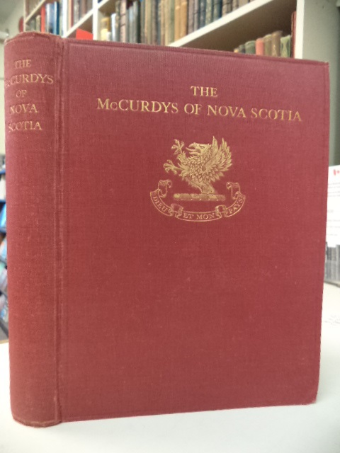 Image for Genealogical Record & Biographical Sketches of the McCurdys of Nova Scotia