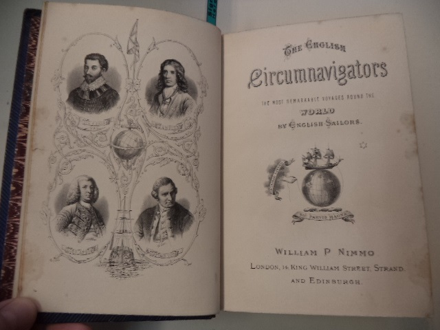Image for The English Circumnavigators. The most remarkable voyages round the world by English sailors. With a preliminary sketch of their lives and discoveries.