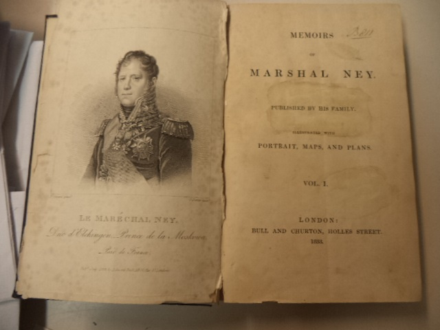 Image for Memoirs of Marshal Ney