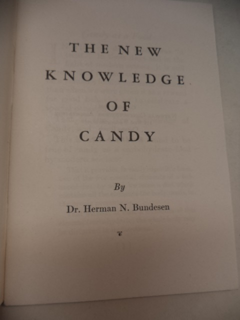 Image for The New Knowledge of Candy