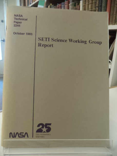 Image for SETI Science Working Group Report