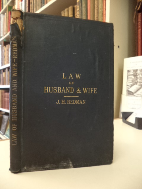 Image for A Concise View of the Law of Husband and Wife as modified by the Married Women's Property Acts : with an appendix of statutes