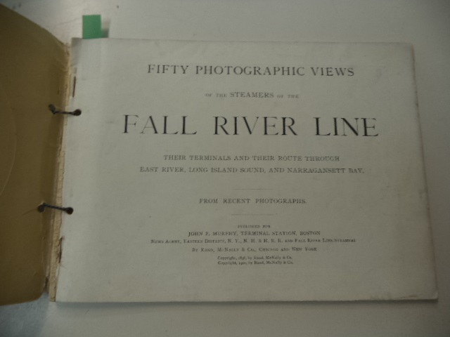 Image for Fifty Photographic Views of the Steamers of the Fall River Line, Their Terminals and Their Route Through East River, Long Island Sound and Narragansett Bay -  From Recent Photographs