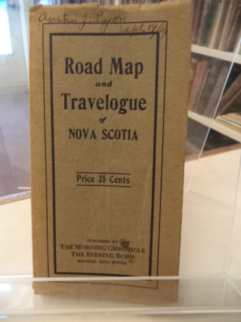 Image for The Morning Chronicle and Evening Echo Gazetteer and Road Map of Nova Scotia : a complete travelogue. With a description of the cities, towns and villages; the various trail markings, distances from place to place - also a guide to the fishing and hunting