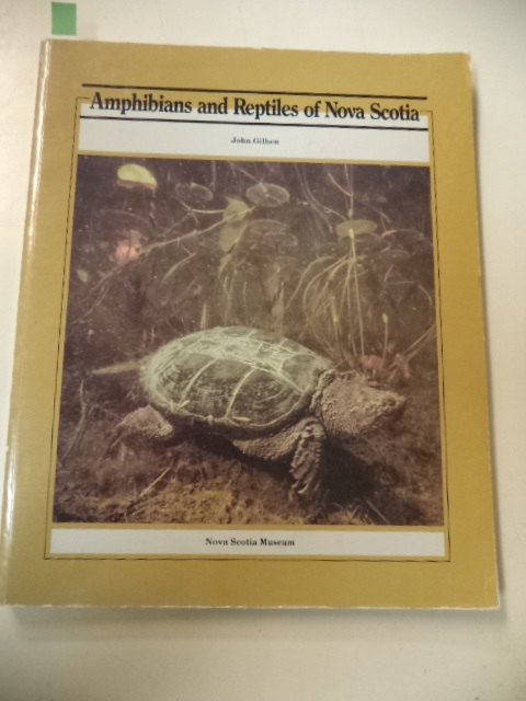 Image for Amphibians and Reptiles of Nova Scotia
