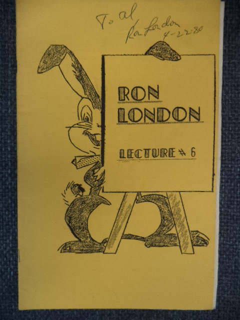 Image for Ron London Lecture #6