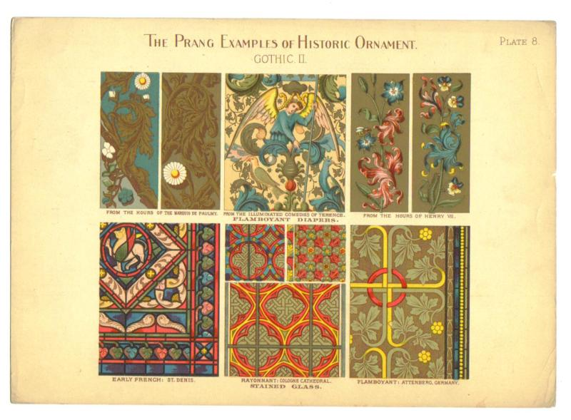 Image for Prang Examples of Historic Ornament: A suite of 73 plates